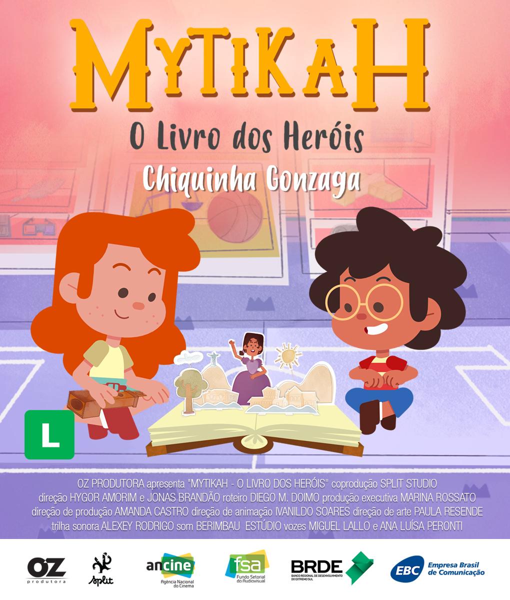 Teste Mytikah – O livro dos heróis